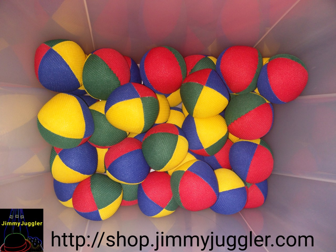 Features of JJ Juggling Beanballs
